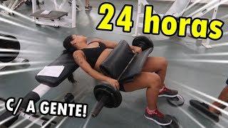 Baixar NOSSA ROTINA POR 24 HORAS NA CASA NOVA & TREINANDO PESADO !