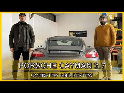 2008 PORSCHE CAYMAN 2.7 REVIEW