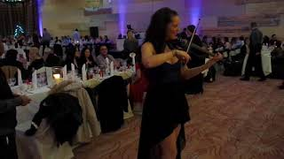 Violinist Lotta Virkkunen @ Crowne Plaza Dublin