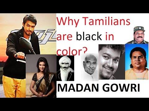 Tamils are Black   Tamil   Madan Gowri   MG