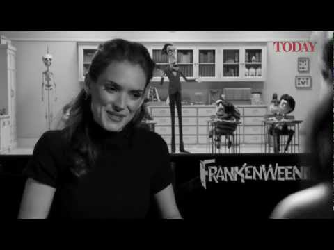 Winona Ryder speaks to TODAY about Frankenweenie