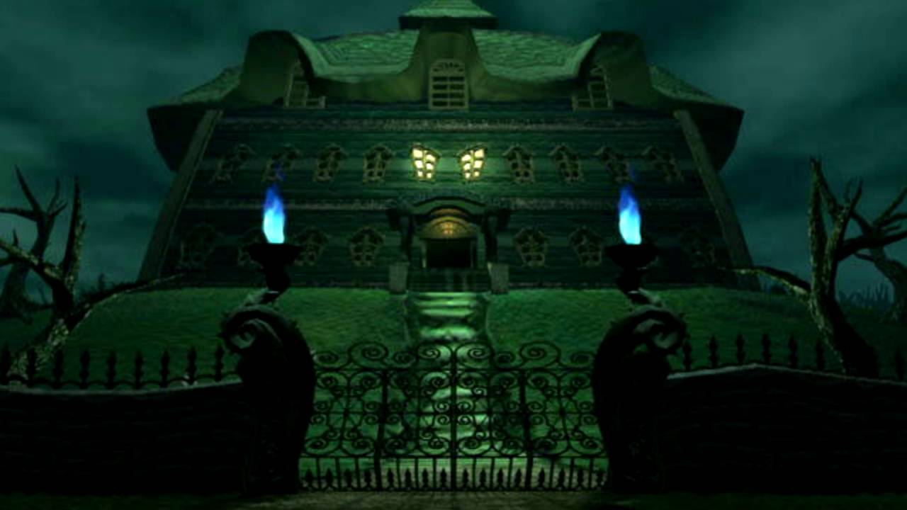 Luigis Haunted Mansion Coloring Pages Www Topsimages Com