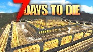 7 Days To Die: BEST BASE DEFENCES!! Alpha 15 Best Base Build | 7 Days To Die Gameplay