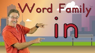 Word Family -in | Phonics Song for Kids | Jack Hartmann