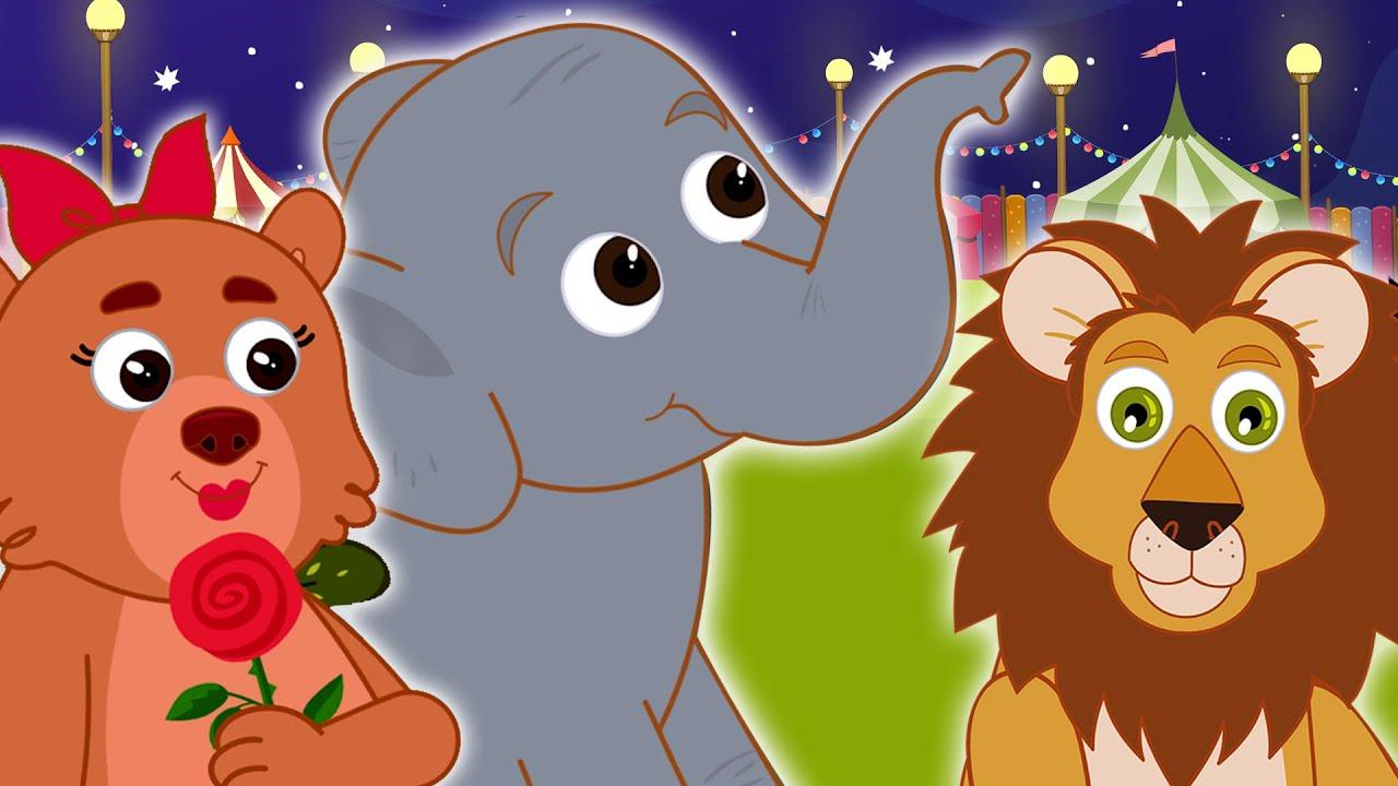 Fiera degli animali | Canti di animali per bambini | HooplaKidz Italiano | filastrocche italiane