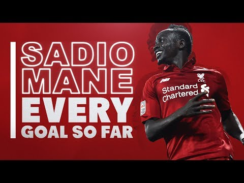 Mane's new deal   Every Sadio Mane goal so far for Liverpool