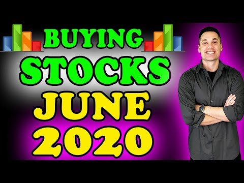 All The Stocks I Plan To Buy! - (JUNE 2020)