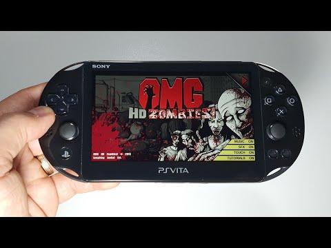 OMG HD Zombies  | PS Vita Slim Handheld Gameplay