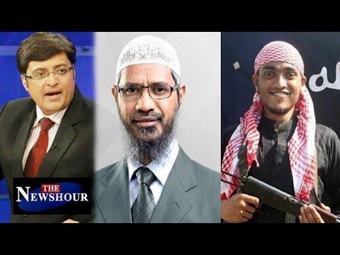 Zakir Naik Responsible for Dhaka Attacks Should Be STOPPED: The Newshour Debate (6th July 2016)