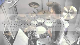 "Drum Lesson - Jeff Porcaro on Rosanna - ""Signature"" Transition Fill by Nick Molenda"