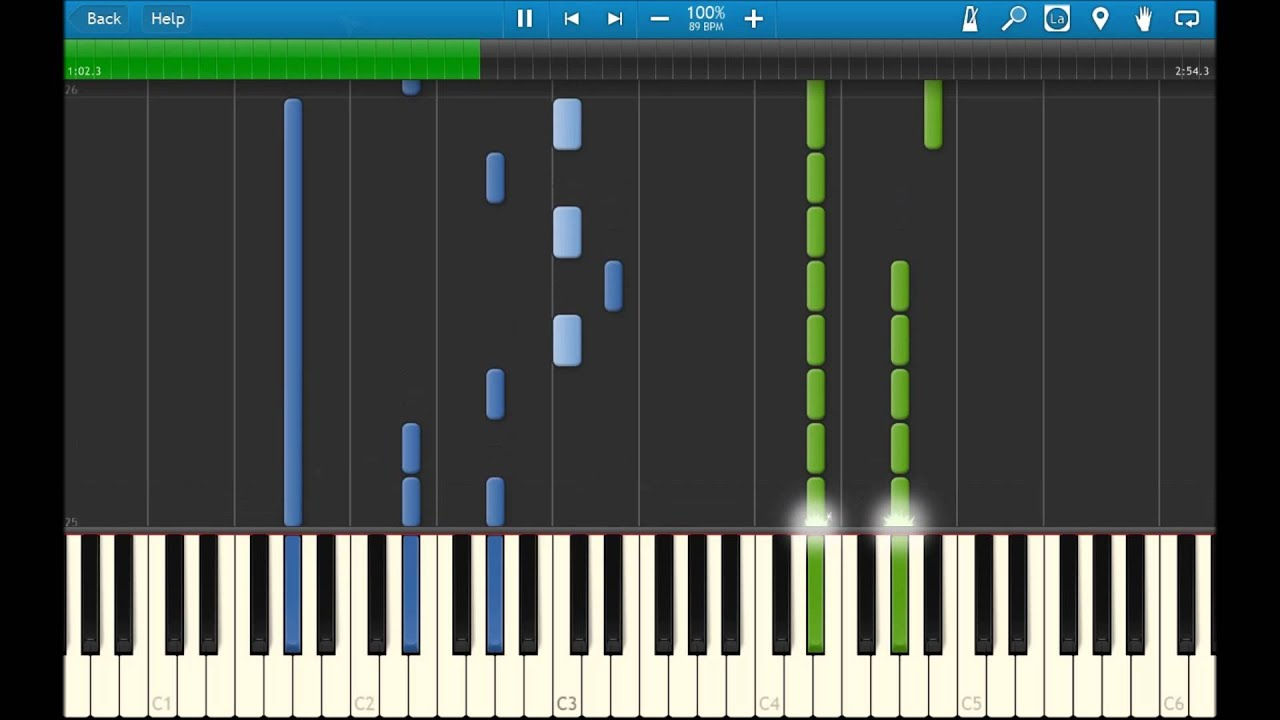 how to play imagine dragons demons on piano
