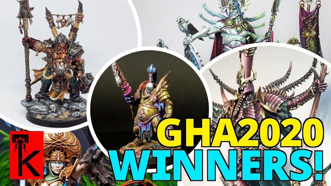 GOLDEN HAMMER AWARD 2020 WINNERS!! Warhammer: Age of Sigmar Painting Competition!!