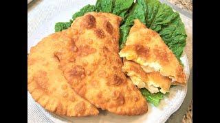 ЧЕБУРЕКИ С СЫРОМ.  Очень вкусно! Простой рецепт.Pies With Cheese.