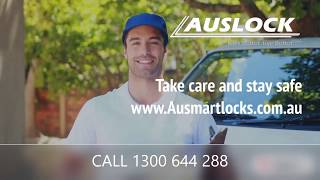 AUSLOCK - SMART LOCKS - COVID-19 - CORONAVISRUS