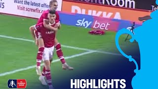 Barnsley 4-0 Notts County   Round 1   Emirates FA Cup 2018/19