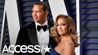 Jennifer Lopez & Alex Rodriguez's Couples Workout Is Harder Than You'd Think! | Access