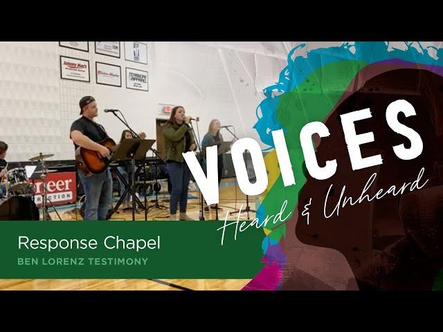 Ben Lorenz | Friday Worship Chapel
