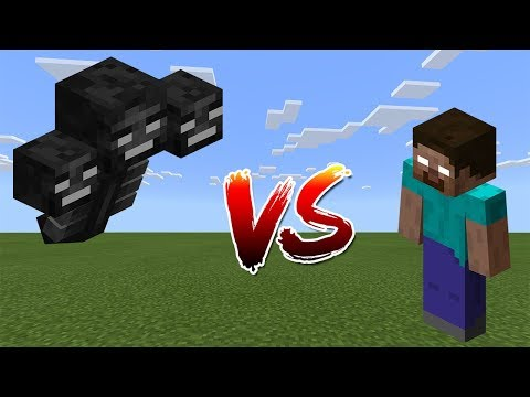 Wither Vs Herobrine | Minecraft