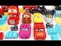 Building Blocks Toys for Children Lightning McQueen Cars Trucks for Kids
