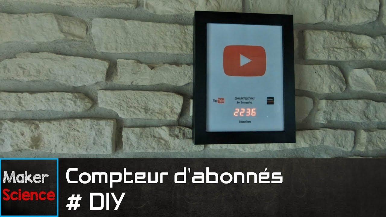 #DIY Compteur d'abonnés