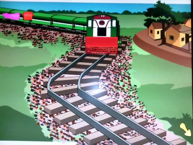 Train Cholese - poem of Shamsur Rahman