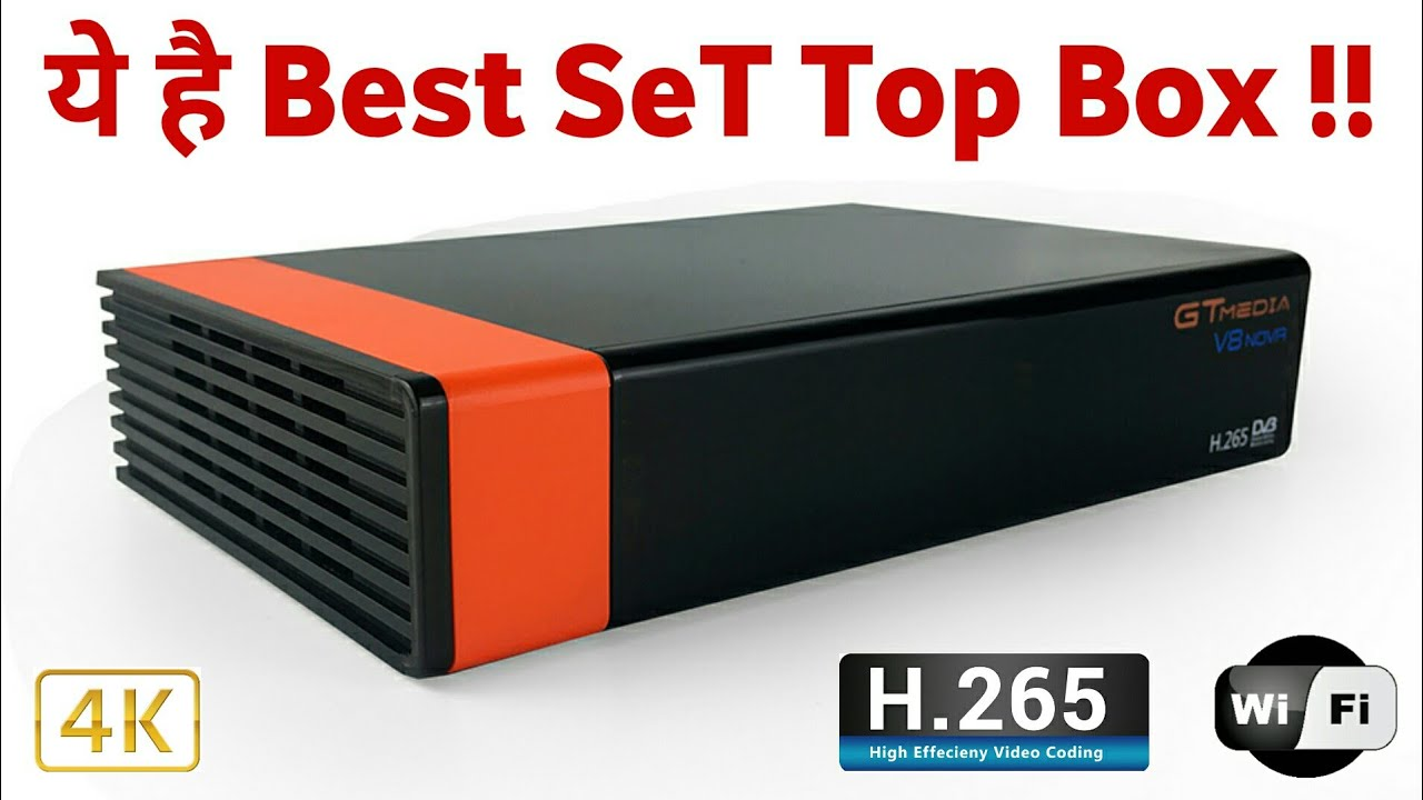 GTMedia V8 NOVA Set Top Box Full Review   New Freesat STB Launched With  Built in WiFi & HEVC by Just Simple Tech