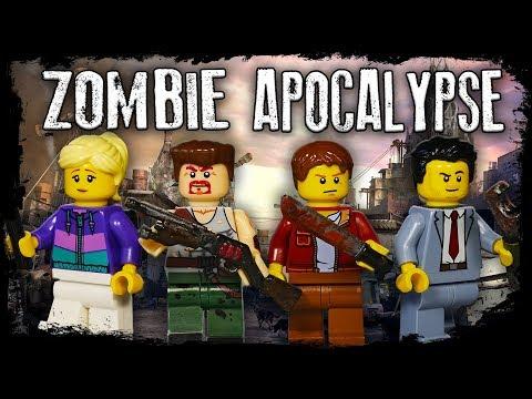 LEGO Мультфильм Зомби Апокалипсис Серии 1-8 / Весь 1 сезон / LEGO Zombie Apocalypse