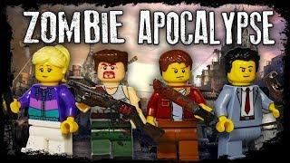 видео: LEGO Мультфильм Зомби Апокалипсис Серии 1-8 / Весь 1 сезон / LEGO Zombie Apocalypse