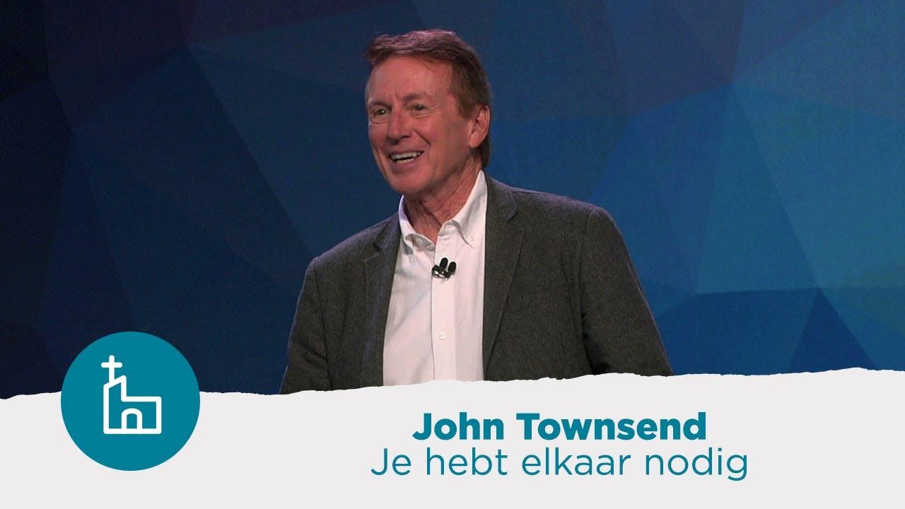 John Townsend: 'Ik denk dat de meesten van ons in relationeel opzicht tekort komen'