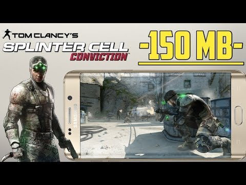 Download Best Android Fps Game Splinter Cell Conviction Only 150mb Working Game