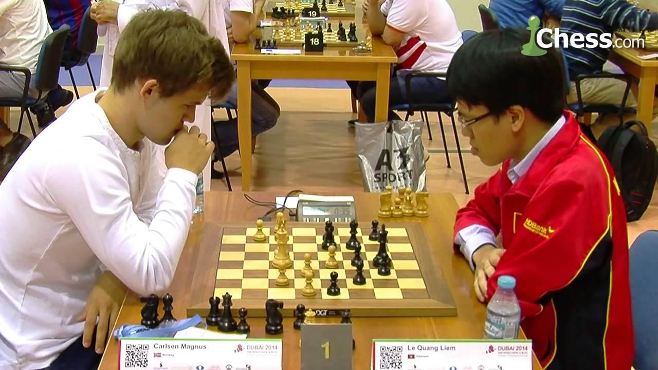 World Blitz Championship Magnus Carlsen Vs Le Quang Liem Youtube