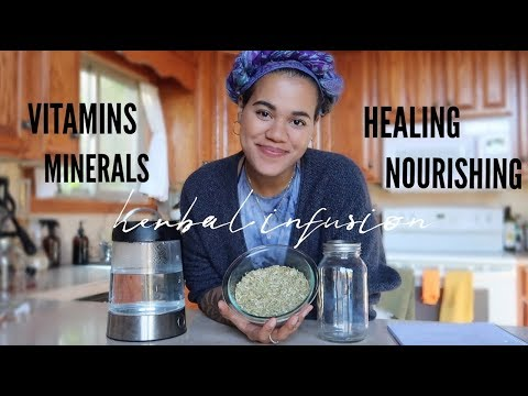 HOW TO MAKE HERBAL INFUSIONS AT HOME