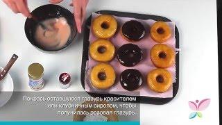 Видео рецепт Вкусные Пончики на YouTube