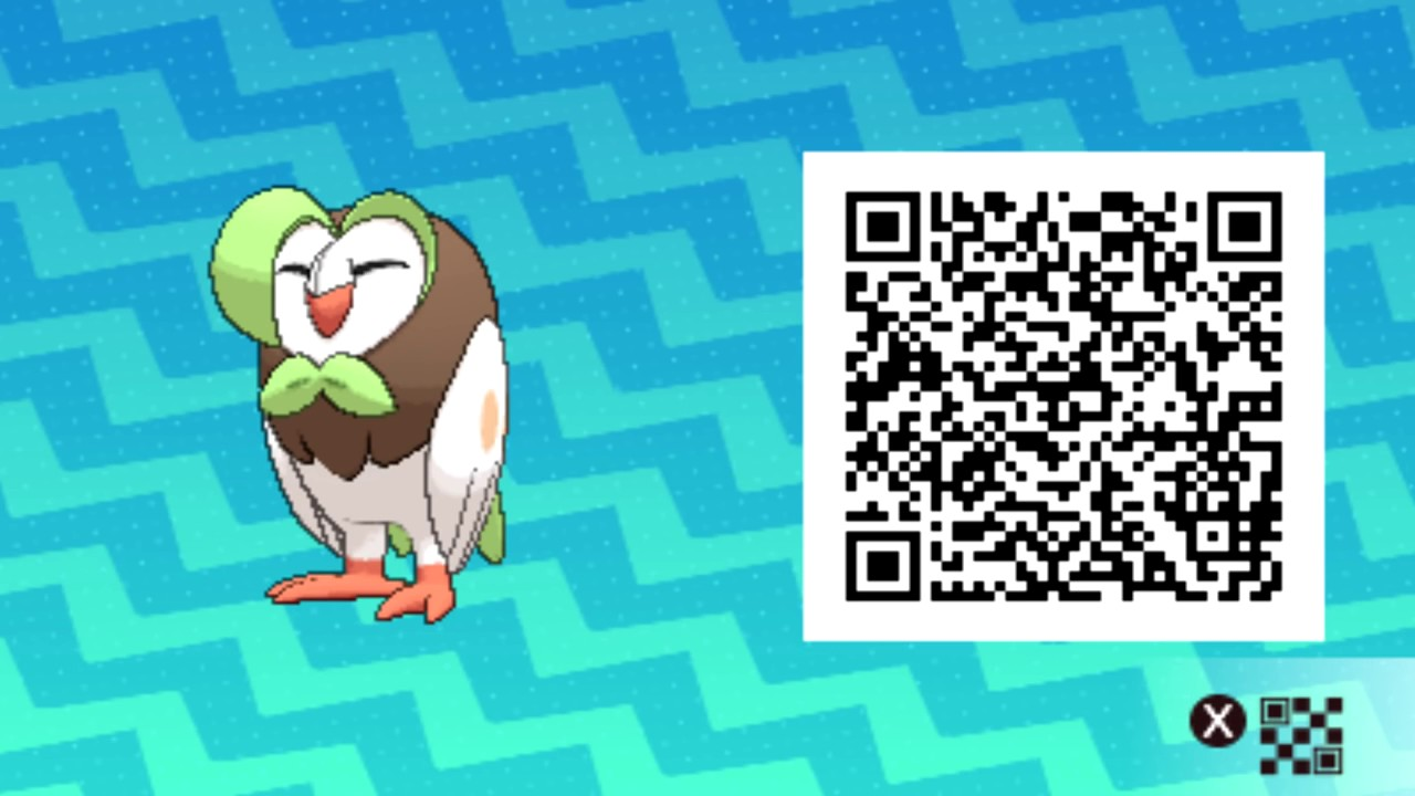 how to qr codes in sun and moon work
