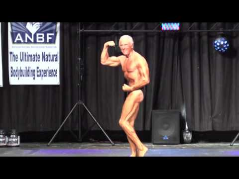 68 Year Old Robert Brehm At The ANBF NJ Natural Pro/Am Bodybuilding Show