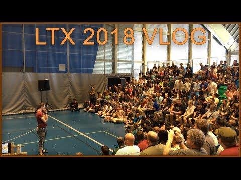 Linus Unboxes Gucci Sandals! - LTX 2018 Vlog