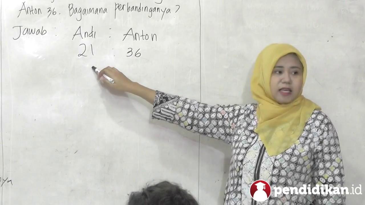 Kelas 5 Matematika Perbandingan Video Pendidikan Indonesia Youtube