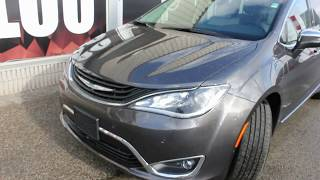 2018 Chrysler Pacifica Hybrid Review Granite Advanced Safety Tec Group