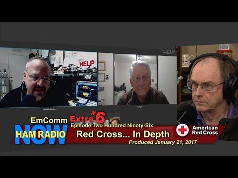 HRN 296; EmComm Extra 6: Red Cross in Depth on Ham Radio Now