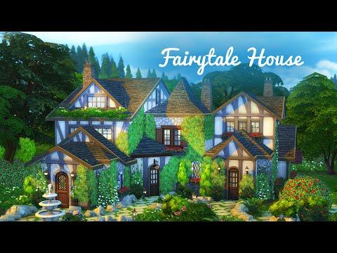 The Sims 4 Build | Fairytale Cottage