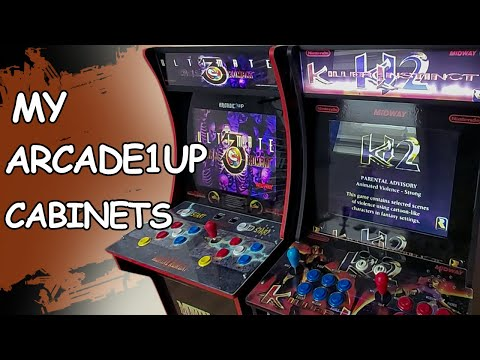 MY KILLER INSTINCT 2 AND ULTIMATE MORTAL KOMBAT 3 ARCADE 1UP CABINETS from JDCgaming