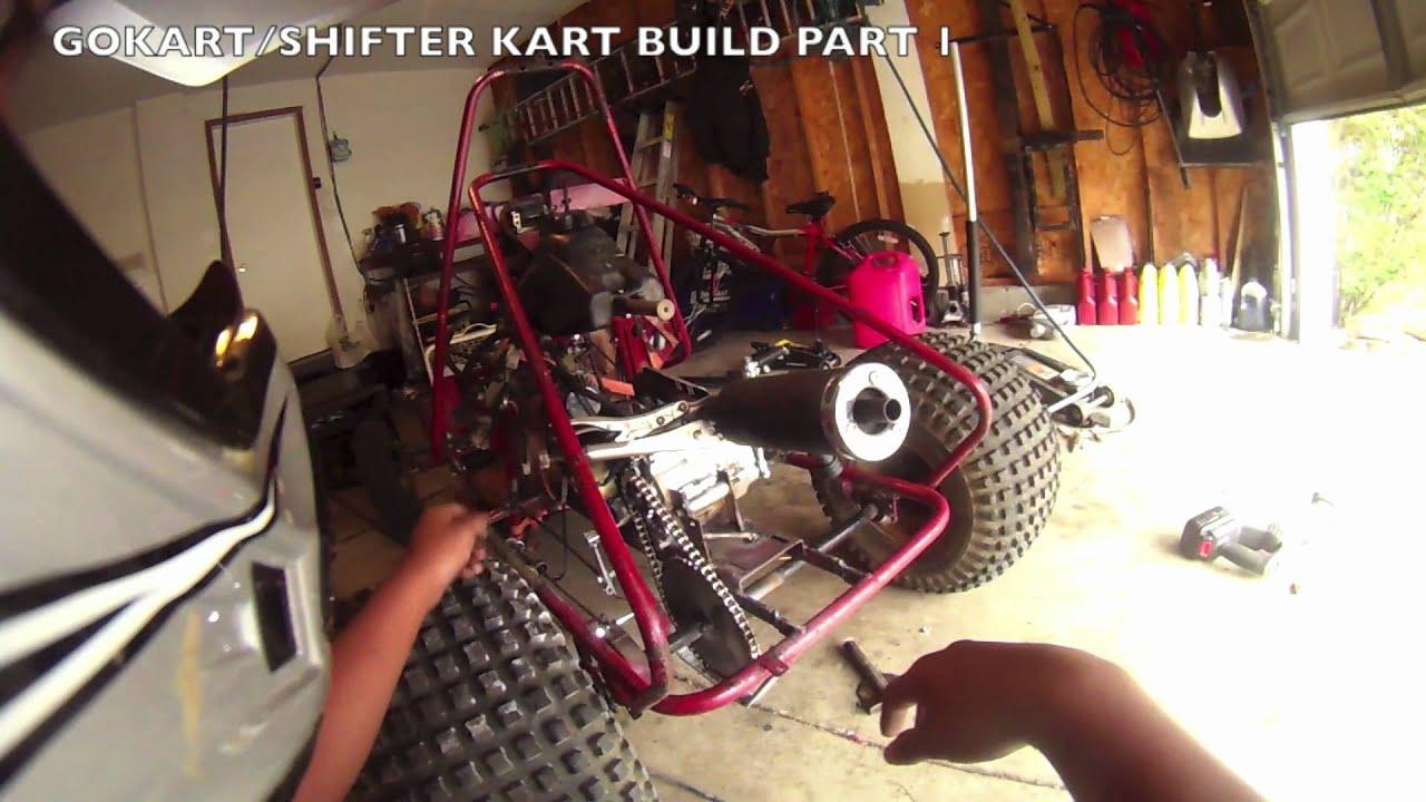 Gokart Shifter Kart Build Part1