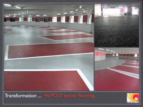Hopewell Centre Hong Kong, Car Park Epoxy Flooring