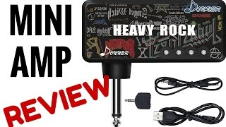 Mini Guitar Amp ★ FIRST LOOK ★ Review - Donner Heavy Rock Pocket Amplifier
