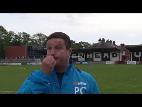 2017-09-30 Maidenhead Utd v Guisley - Paul Cox Interview