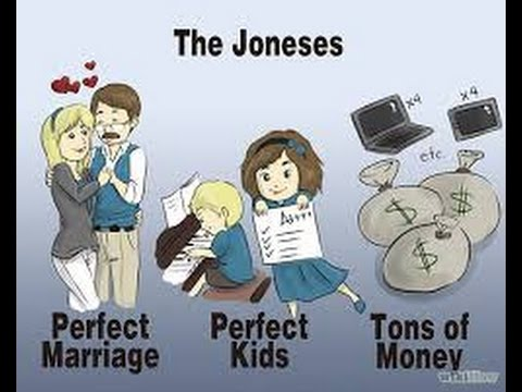 how to not keep up with the jonses lifestyle