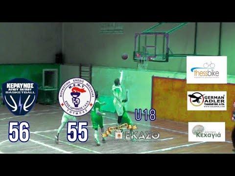 GrSpotakia| Κεραυνός Αγίου Παύλου -  ΜΕΝΤ 56 - 55 U18 highlight