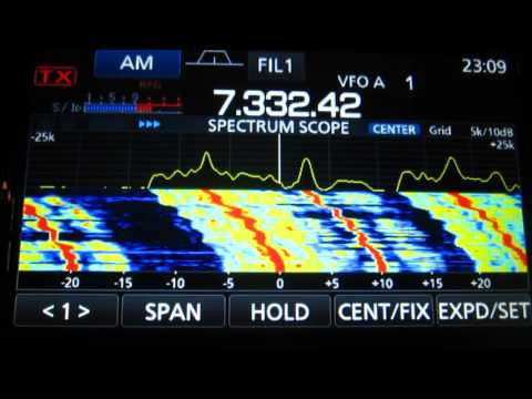 Icom  7300  Search radio short waves 7 mhz