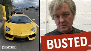 James May & TJ Hunt chat about getting pulled over by the police
