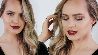 Easy Glam Holiday Makeup Tutorial (From my recent videos!) - KayleyMelissa